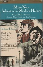 More New Adventures of Sherlock Holmes, Original Radio Dramas Vol 15, Cassette