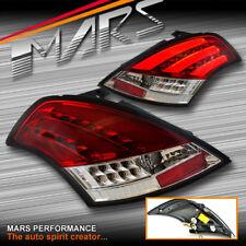 Clear Red LED Tail Lights for Suzuki Swift 11-17 Taillight FZ GA GLX GL CLASSIC