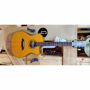 Framus Legacy Ff 14 Sv Folklore - Satin Jaune - Guitare Western Avec Ramassage