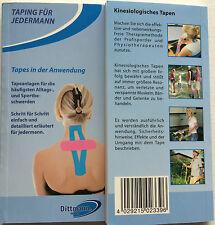 """Kinesiologie Buch von Dittmann  """"Taping für Jedermann"""" Sport- Alltagsbeschwerden"""