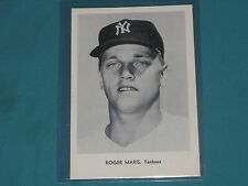 ROGER MARIS  1963 YANKEES TEAM ISSUE PHOTO, TYPE 1   NM+