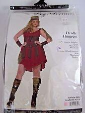Plus Size 3X-4X Women's Deadly Huntress Costume Halloween Party Sexy Leg Avenue