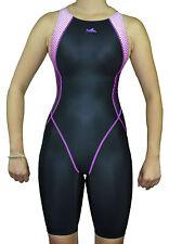Girl's Junior Racing Competition Swimwear Kneeskin Kneesuit Size 30 L Girl's 14