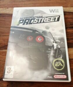 NINTENDO WII GAME NEED FOR SPEED PROSTREET NICE CONDITION WITH MANUAL 3+ 2007