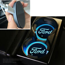 Car Van USB LED Cup Holder FORD Fiesta Focus Mustang Transit Interior Light MK1