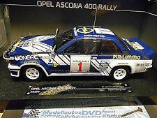 OPEL Ascona 400 B Rallye Safari #1 Kleint 1981 Venere Publimmo RAR Sunstar 1:18