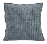 1pc Beautiful Designer Velvet Cushion Cover Pillow Case Gray Colo19x19''50x50cm
