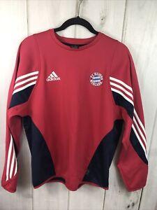 Adidas Bayern Munich Warm Up Top Training Pullover Sweater Size Men's Small