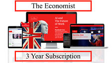 The Economist 3 Year Subscription Account: Digital & Audio All Platforms/Regions