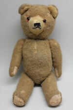 Antique Vintage 12'' TEDDY BEAR with Articulated Limbs & Head/ Internal Growler