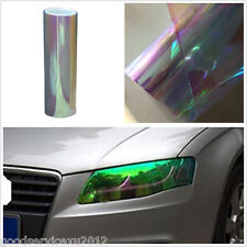 Colorful Transparent Car Vehicles Headlight Taillight Fog Light Vinyl Film Cover