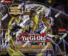YUGIOH HIDDEN ARSENAL 6: OMEGA XYZ BOOSTER 12 BOX CASE BLOWOUT CARDS
