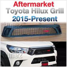 OEM TRD Front Grill Grille Matt Matte Black For Toyota Hilux GUN1 MK8 2016 2017