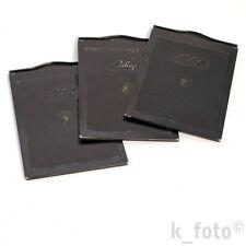 3 x Linhof-Kassette 9x12 * Blechkassetten * film plate holder