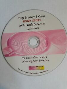 Huge Mystery &  Detective / Short Story - 60+ hrs Audiobook Collection Mp3 DVD