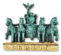 Berlin Magnet Brandenburger Tor Quadriga Poly Souvenir Germany