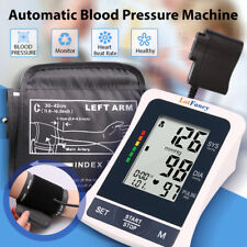 Automatic Arm Blood Pressure Monitor BP Large Cuff Gauge Machine Tester Meter