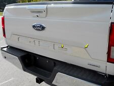 """2018 FORD F-150  2 Piece Stainless Tailgate Accent Trim. 4"""" Width, 2/4-door"""