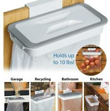Hanging Trash Garbage Rubbish Bin Kitchen Carrier Plastic Bag Hanger Holder Rack