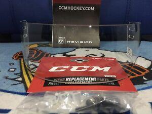 Pro Stock KHL Return CCM VR31 Clear Non-Certified Ice Hockey Visor Face Shield