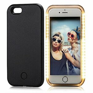 LED Light up Luminous Selfie Cell Phone Case Cover for iPhone 6