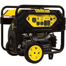 Champion 100111 12000 Watt Electric Start Portable Generator Carb