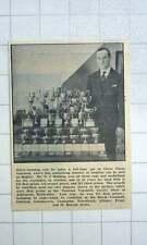 1967 Mr Nj Hosking Astonishing Number Trophies  Vegetables Glebe Farm Sancreed