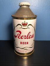 Super Clean Peerless Cone Top Beer Can!