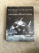 (Used) The Dark Knight Rises SteelBook Blu-ray / DVD Exclusive Batman (2012)