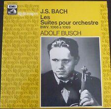 ADOLF BUSCH - MARCEL MOYSE / BACH suites for orchestra  / EMI ref.