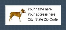 """Pitbull Return Address Labels  - Personalized """"BUY 3 GET ONE FREE"""""""