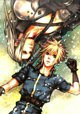 Final Fantasy 7 VII Doujinshi Comic Book Sephiroth x Cloud Strife Sence of Dist