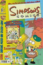 Simpsons Comics Nr.65 / 2002 Dino Verlag / Mit Poster & Sticker Card