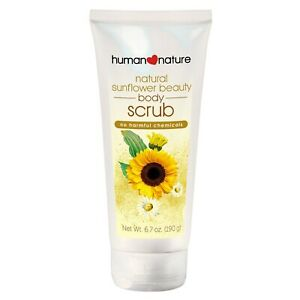 Human Nature Sunflower Beauty Body Scrub 99.9% Natural | Free from plastic micro