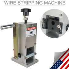 Manual Copper Wire Stripping Machine Cable Stripper Scrap Metal Recycle Tool USA