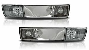 For VW Golf MK3 Vento Clear Chrome Bumper Indicator Fog Lights Lights Lamps