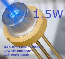 5* BLUE LASER DIODES  high power 445nm 1.8 WATT m140 blue laser diode