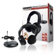 Casque sans fil sans fil casque audio avec Radio pour TV Téléviseur PC Radio MP3