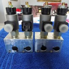 2 Brand New Comatrol Hydraulic Manifold Assembly With Solenoids