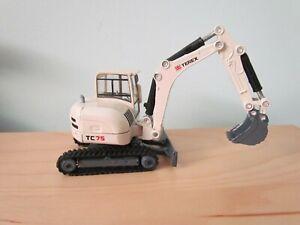Siku 1:50 Scale Model Terex TC 75 Excavator.