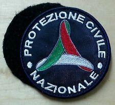 PATCH RICAMO TOPPA PROTEZIONE CIVILE NAZIONALE CON VELCRO