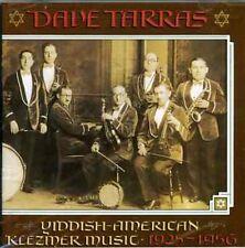 Dave Tarras - Yiddish American Klezmer Music [New CD]