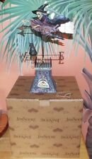 """Comes The Storm"" Enesco Jim Shore Heartwood Creek Witch Figure #4008115 - Mib"
