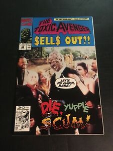 TOXIC AVENGER #10 1992 MARVEL VF/NM
