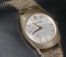 LUXURIOUS VINTAGE 1967 LONGINES MEN'S DRESS WATCH 14k GOLD CASE