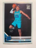 2019-20 Optic PJ Washington Jr. #152 Rated Rookie Base RC