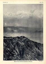 Blick auf den Luftkurort Darjeeling am Himalaja (Phot.Puhonny) c.1904