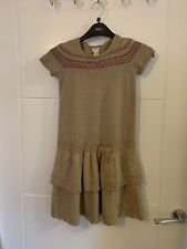 Girls Monsoon Knitted Dress Size 9 Years