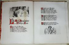Les Ballades de François Villon. Texte et illustrations gravés par COURBOULEIX