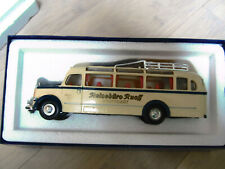 "Matchbox Dinky-Toys Mercedes Benz (*** TOP ***) Omnibus ""Reisebüro Ruoff"" 1:50"
